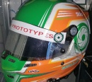 Helmet of Sean Doyle