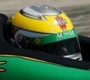 Helmet of Simon Pagenaud