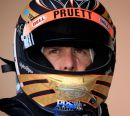 Helmet of Scott Pruett