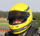 Helmet of Chris Maliepaard
