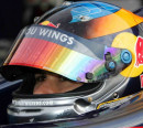 Helmet of Robert Wickens