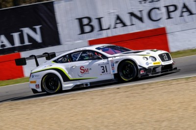 Caygill homeward bound as Blancpain Sprint Cup heads to Brands