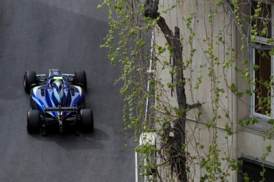 Norris secures Baku front row start