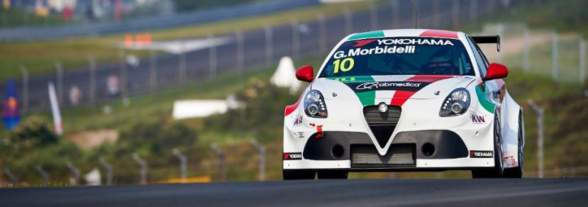 Lester completes first FIA WTCR laps with Alfa Romeo Giulietta